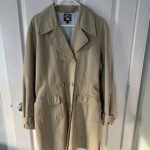 Vintage Roots Trench Coat XL